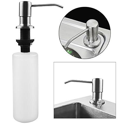 Seifenspender Edelstahl Schaumseifenspender für Dusche Küche Bad weiß von LovelyHome