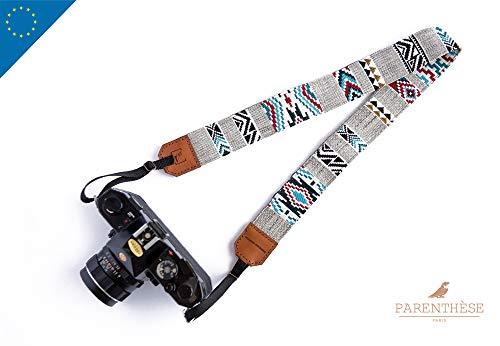 Correa para cámara de Fotos - Correa Ajustable - Adaptador Universal y Seguro - Accesorio para cámara de Fotos Compatible SLR, DSL, Canon, Nikon, Sony, Olympus, Pentax, Fujifilm ((ETNICA))
