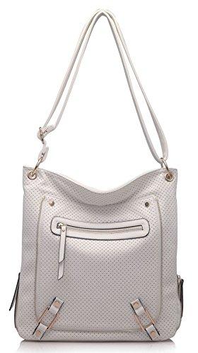 Big Handbag Shop ,  Damen Umhängetaschen Off-white (SD509)