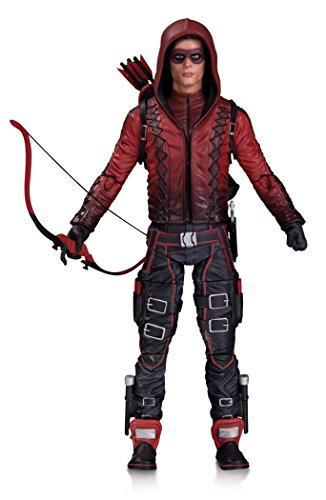 """Bring the heroes and villains from the popular Arrow and The Flash television series out of the small screen and into your home with these intricately designed action figures. Arsenal stands 6.75"""" tall."""