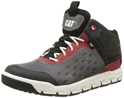 Caterpillar Herren Parched Gore-Tex Hohe Sneakers, Grau (Mens Earl Grey/Brick), 46 EU