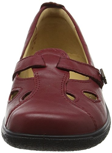 Hotter Nirvana, Chaussures Mary Jane femme Red (Ruby)