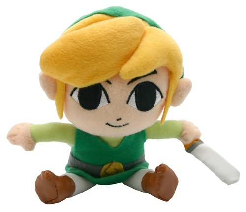 The Legend of Zelda - Link Plüschfigur 16cm -