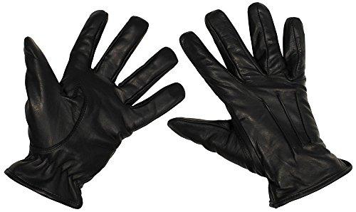 Lederhandschuhe Safety (Schwarz/XL) ()