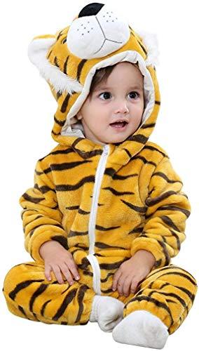Bebé Ropa Mameluco Niños Niñas Pelele Pijama de Primavera y otoño Franela Traje de Animales 1