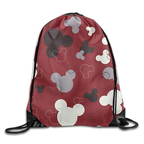 Drempad Bolsos De Gimnasio,Mochilas, Bear Cap Sticker Drawstring Bag For Traveling Or Shopping Casual Daypacks School Bags