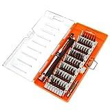 HaiMa 60 In 1 Tournevis Multifonctions Set Tool Box Orange-Orange