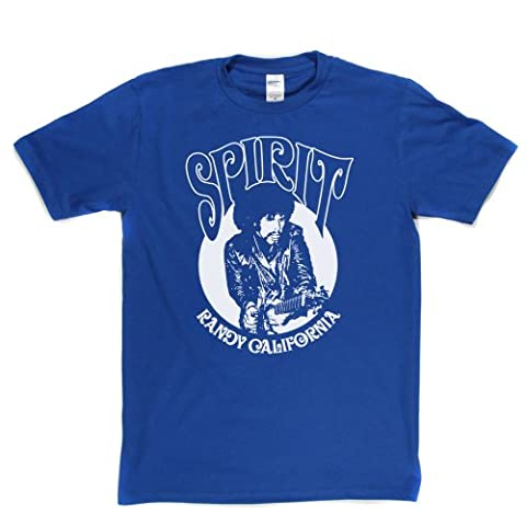 Spirit T-shirt (royalblue/white xlarge)