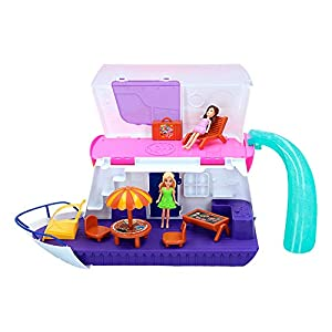 ColorBaby -  Barco con muñecas y accesorios Fashion Cruise Ship CBtoys (44662)