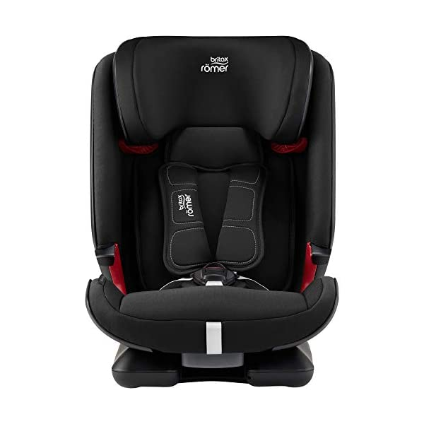 Britax Römer car seat 9-36 kg, ADVANSAFIX Z-LINE Isofix Group 1/2/3, Cosmos Black Britax Römer Made in germany Flip & grow - change from buckle to secureguard Excellent security concept - with xp-pad, secureguard and pivot link isofix system 2