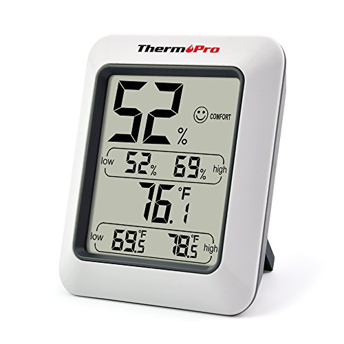 ThermoPro TP50 - Termohigrómetro Digital Interior