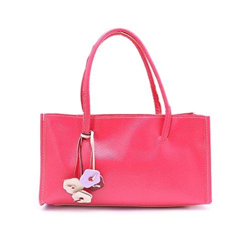 Dairyshop Donne Tote Donna Borsa a tracolla Messaggero di Satchel Borsa della borsa della spesa (rosa) anguria rosso