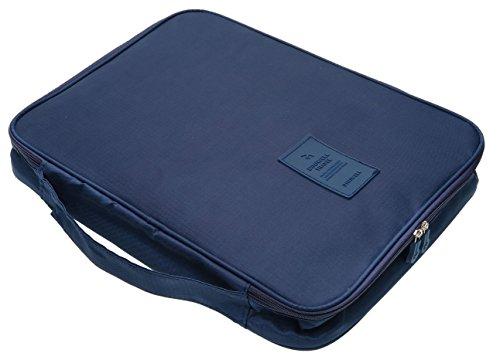 Diniwell - Portatrajes de viaje Azul azul marino einheitlich