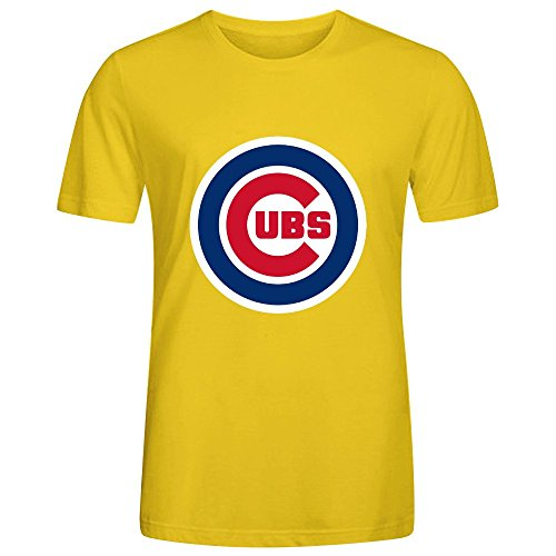 mlb-chicago-cubs-team-logo-crew-neck-t-shirts-for-men-100-cotton-x-large