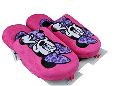 De fonseca disney minnie topolino donna pantofole panno ciabatte rosa