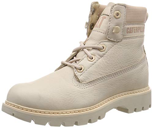 Caterpillar Lyric, Botines para Mujer, Gris (Brazilian Sand Light Grey), 38 EU