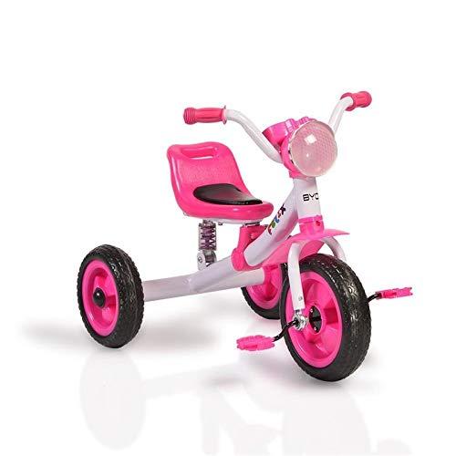 Moni Trade Ltd. Byox Dreirad Felix mit EVA-Reifen, Melodien, Vorderlicht ab 3 Jahre rosa