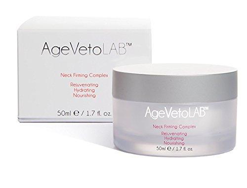Hals-straffende Creme, die verjüngende befeuchtende reduziert Falten-Aussehen-Komplex durch AgeVeto 50Ml (1.7 Oz)