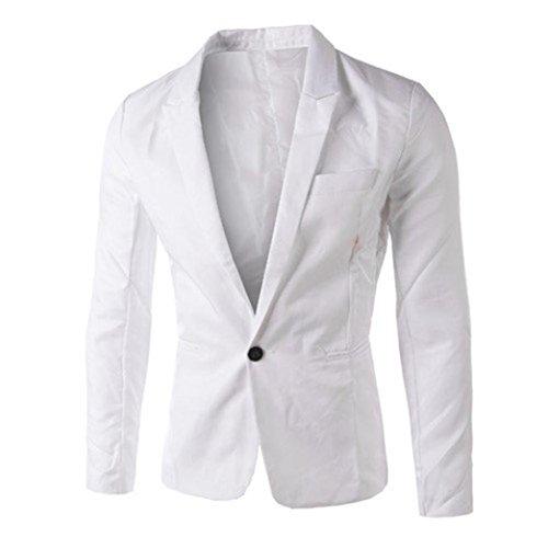 ♚Btruely Herren Chaqueta para Hombre con botón Sudaderas con Capucha Decorativa Ocio para Hombres Collar Sudaderas Pullover Chaqueta de Abrigo