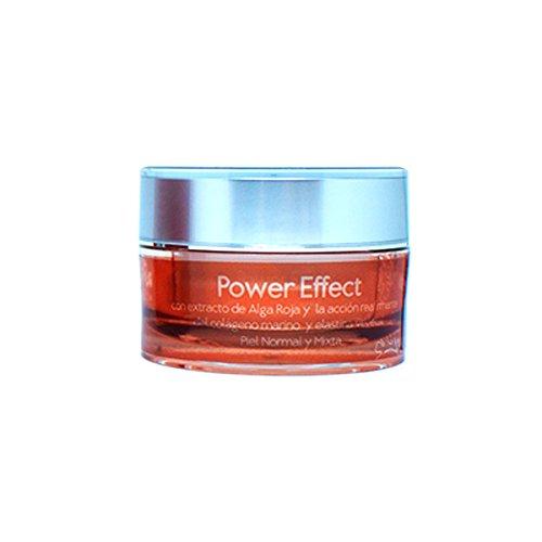 Power Effect Cosmetica Natur, Nacht-Creme mit pflanzlichen Extrakt rote Alga, Elastin und...