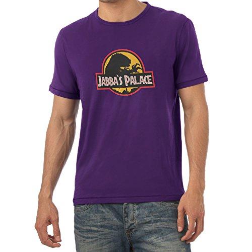 NERDO - Jabba's Palace - Herren T-Shirt Violett