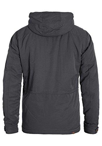 BLEND Cirocco - Veste d'Hiver- Homme Ebony Grey (75111)