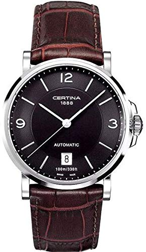Certina Men's Automatic Watch Analogue XL Leather c017.407.16.057.00
