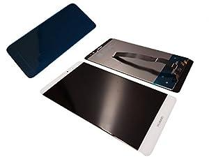 Original Huawei Ascend Mate 9 MT9 LCD Touchscreen Display Front Cover Glas white/weiß Klebestreifen Neu