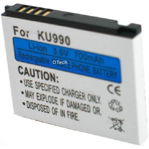 Batterie compatible pour LG KU990I
