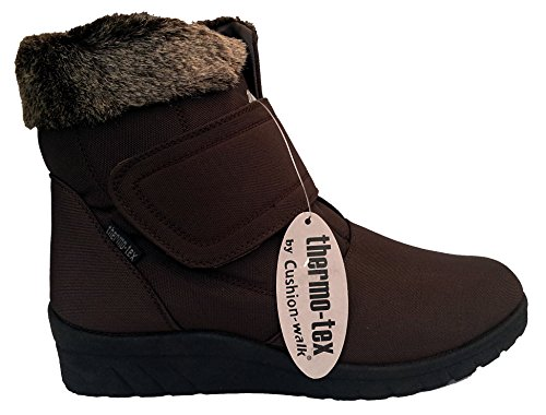 Cushion Walk Thermo-Tex Fleece Lined Men/'s Snow Boots