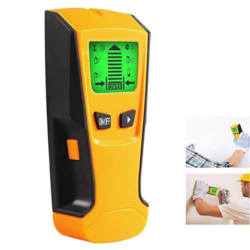 LNLJ Bolzensucher, Holz   Metall   Spannung   Strahl- und Säulendetektor, Wandmitte / -kante - Ermitteln des AC-Live-Wire-Metall-Holzdetektors mit akustischem Alarm -