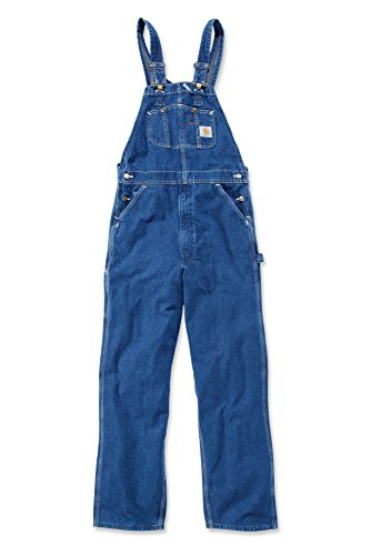 Carhartt R07 Washed Denim Overall - Arbeitsoverall