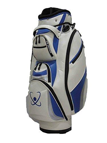 Motor Caddy Golf Cartbag Bag Wasserdichte Material und Dry Pocket–weiß/blau (Golf Cart Motor)