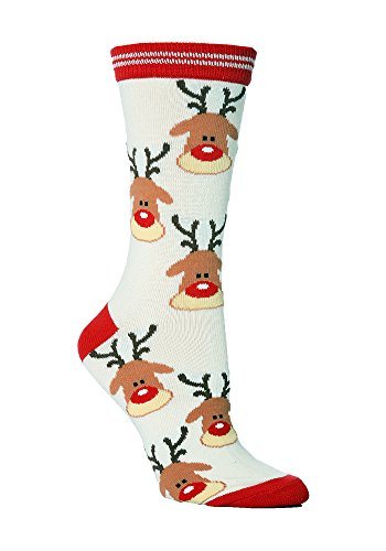 Sock Snob - Chaussettes de Noël Hommes dans mes styles 37-42 eur (Renne)
