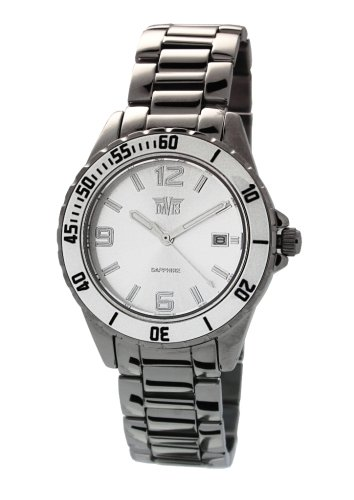 Davis 'Elegance' Women's Analog Quartz Watch with Ceramic Bezel - 1451