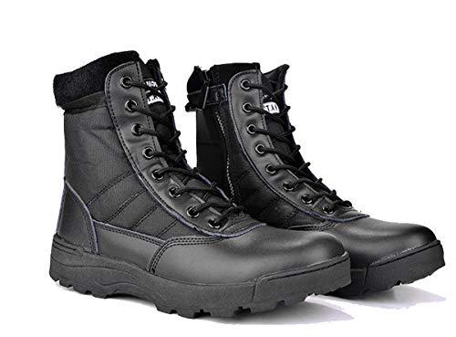 Adong Mens Wasserdichte Hochschlaue-Trekkingschuhe Lace-up Non Slip Breathable Outdoor Schuhe,B,41EU