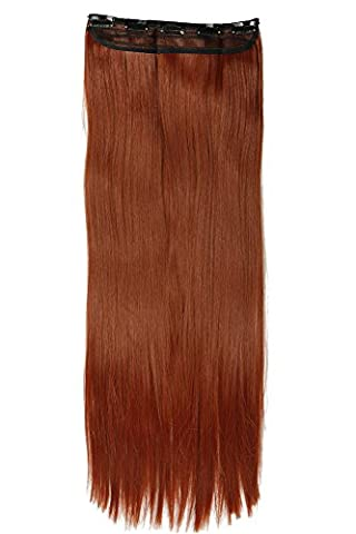 24/26 Inches(43/66cm) 1pcs 3/4 Full Head Clip in Hair Extensions Extension Sexy Lady Fashion Choice 31