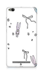 Amez designer printed 3d premium high quality back case cover forXiaomi Redmi 3S (doodle cute)
