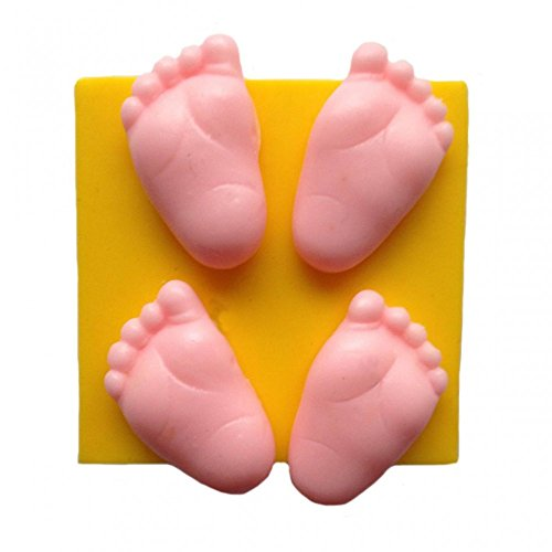 Baby Füße Silikonform - Füße Silikonform