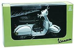 Idea Regalo - NewRay Motorbike 42216 - Vespa P200E 1978 Fedele Riproduzione, Scala 1:12, Die Cast, Bianco