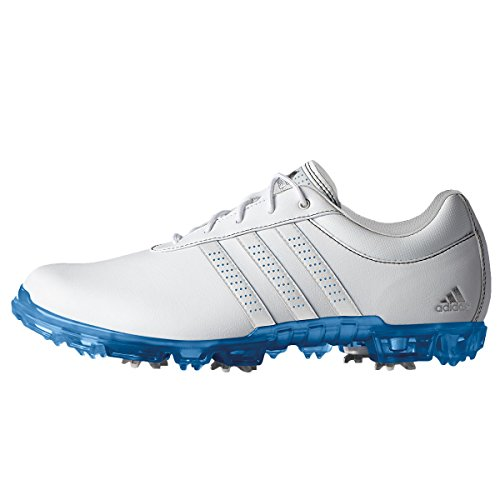 pretty nice ba670 909cb Adidas Adipure Flex Wd, Mens Golf Shoes, White (WhiteJoy Blue