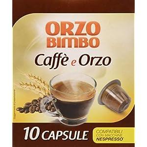Orzo Bimbo Capsule Caffè & Orzo - Pacco da 10 x 24 g