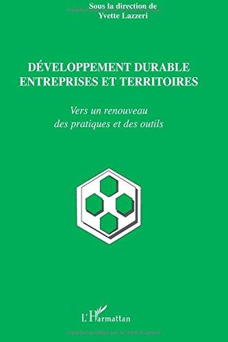Développement durable entreprises et territoires ...