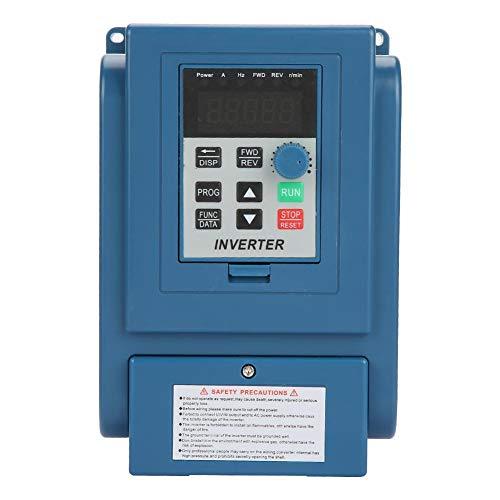 Bewinner VFD-Frequenzumrichter, AC 380V 1,5kW 4A Frequenzumrichter VFD 3-Phasen-Drehzahlregler Inverter Motor AT3-1500X