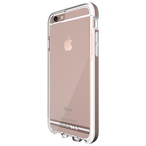 Tech21Impact Shield Self Heal Film de protection d'écran autocicatrisant résistant aux chocs anti-chocs pour Samsung LG G5–Transparent Rose Brillant
