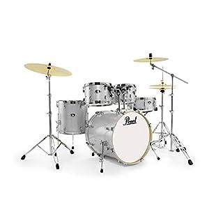 EXX 5-pcs Drum Set 2218B/1007t/1208t/1616F/1455S W/HW & CYMB