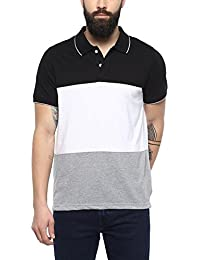 [Sponsored]American Crew Men's Color Block Polo T Shirt - B076PLL9Y9