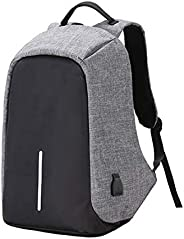 Anti-theft travel backpack large capacity waterproof nylon laptop bag USB charging shoulder bag college studen