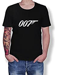 James Bond - 007 - MI7 - Licence To Kill - Movies Novelty Gift - Unisex Adult T-Shirt