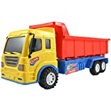 Lukas Push And Go Toy For Kids, Dumper Truck For Kids, Dump Truck For Kids, Dumping Truck Toy